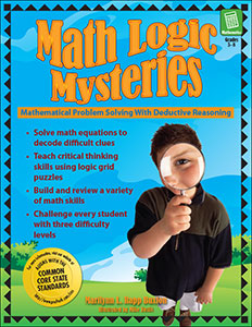 Math Logic Mysteries review by Renée at Great Peace Academy