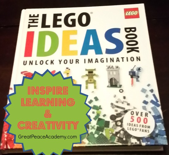 4 Books: The LEGO Ideas Book from DK Books. | Great Peace Academy.com