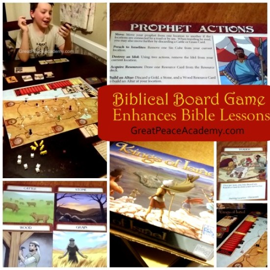 The Kings of Israel a Biblical Board Game Review | Great Peace Academy