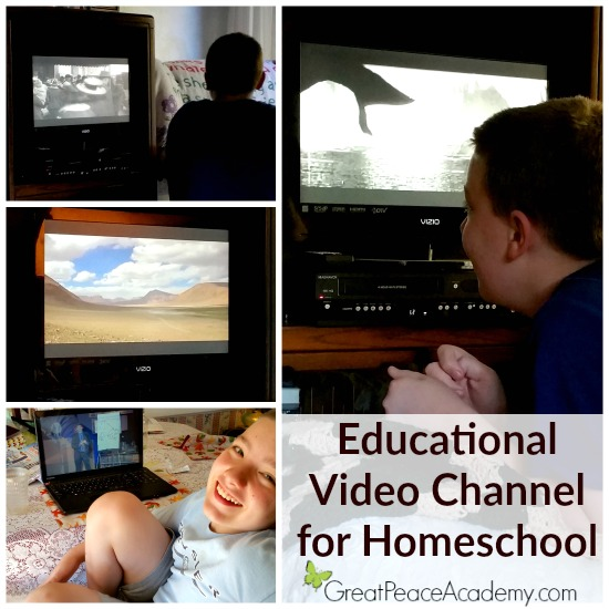 Educational Video Channel for Homeschool | Great Peace Academy #ihsnet @curiosity_strm