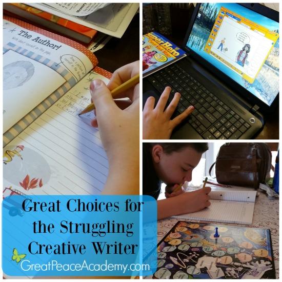 Solving my pre-teen's creative writing struggle   Great Peace Academy #ihsnet @rainbowresourc1