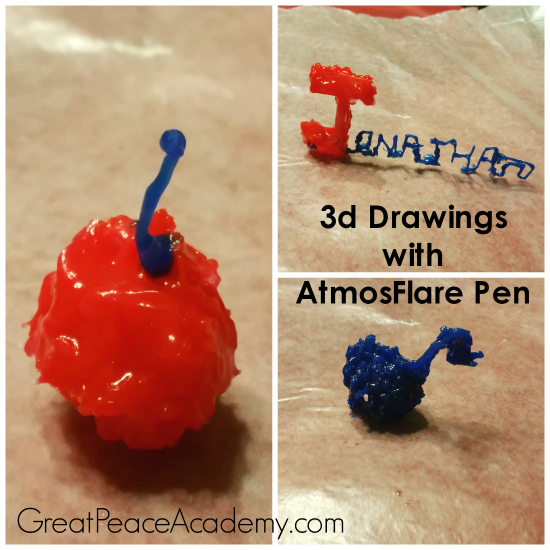Turn Drawing on it's Side with 3d Pen Technology | GreatPeaceAcademy #ihsnet