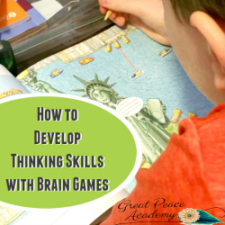 How to Develop Thinking Skills with Brain Games