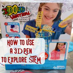 Ideas for Teaching STEM utilizing a 3d Pen in Homeschool