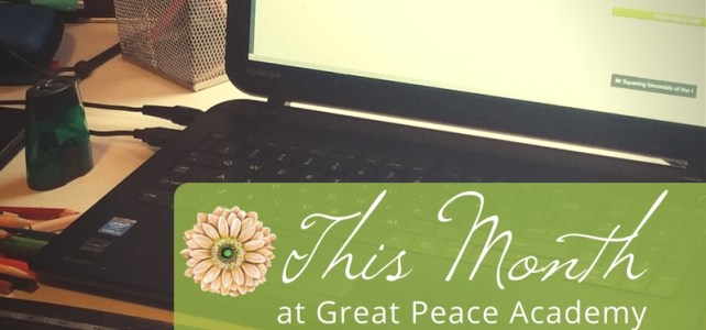 This Month at Great Peace Academy January Edition