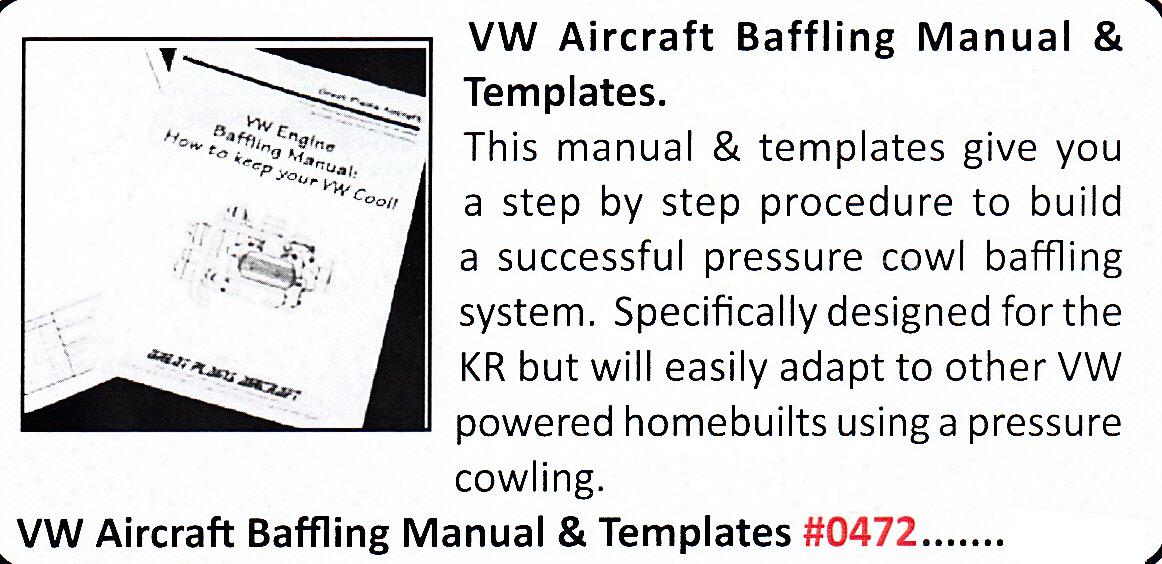 - 0472 / VW Aircraft Baffling Manual & Template #0472