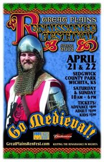 Spring 2012 Great Plains Ren Fest Poster 1
