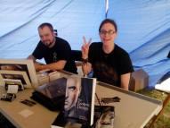 Kansas Authors' Pavilion: A. R. Crebs