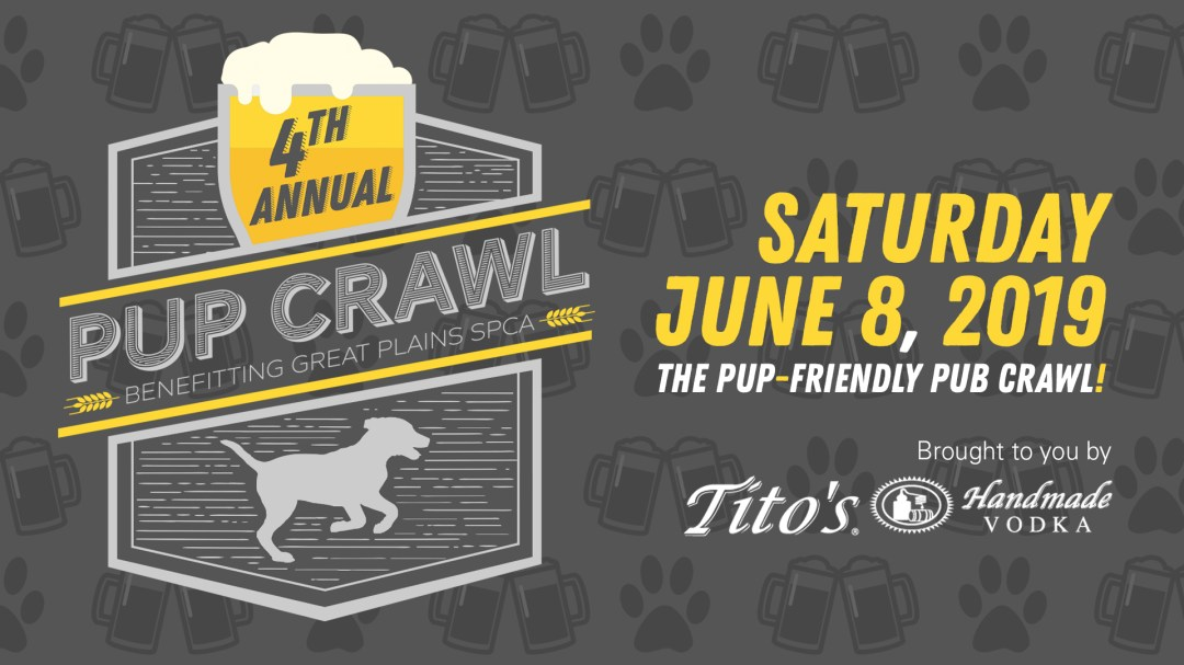 4th Annual 2019 Pup Crawl brought to you by Tito's Handmade Vodka