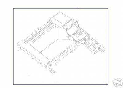 LaserJet 40X0 Series Top Cover Assembly