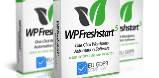 WP Freshstart Software