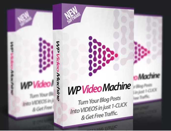 WP Video Machine Software