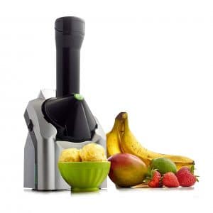 Yonanas 902 Classic Dessert Fruit Maker, Black