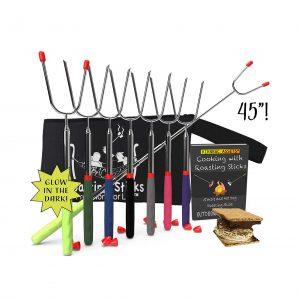 KBA Marshmallow Roasting Sticks 45-Inches Long