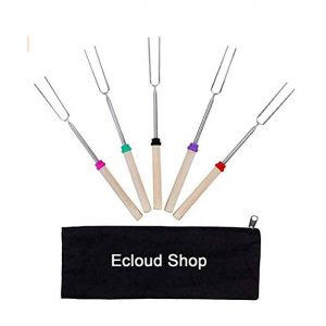 Ecloud Shop Marshmallow Roasting BBQ Sticks