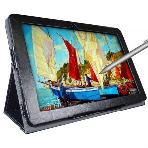 Simbans PicassoTab 10 Inches Drawing Tablet with Stylus Pen