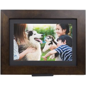 "SimplySmart Home Digital Photo Frame (10.1"", Espresso)"