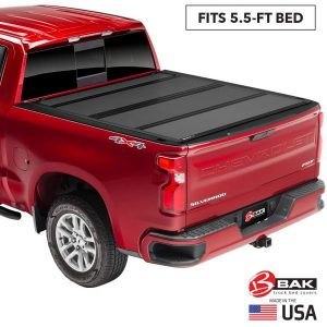 BAK BAKFlip MX4 Truck Bed Cover, Hard Folding Tonneau Cover