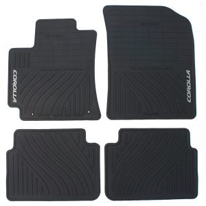 Genuine Toyota All-Weather Floor Mats