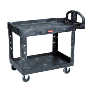 Rubbermaid Commercial Products 2-Shelf 500lbs Welding Cart