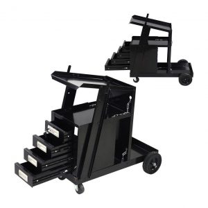 COLIBROX Welding Welder Cart with 4 Drawer Cabinets
