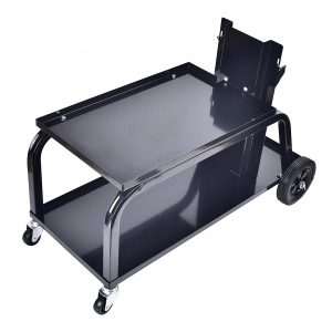Aain Universal MIG Welding Cart 110lbs Cart with Wheels