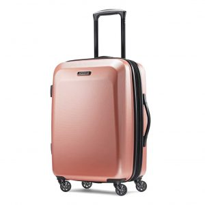 American Tourister Moonlight Hardside Expandable Luggage 21 Inches Carry-On Luggage