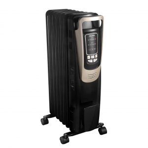 PELONIS Oil Filled Radiator Heater 10H Timer with Remote Control