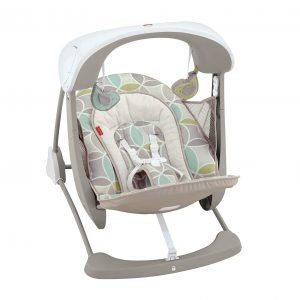 Fisher-Price Deluxe Swing and Seat Baby Bouncer Swing