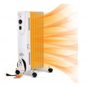 GDY Oil Filled Radiator Heater 1500W with Overheat Protection