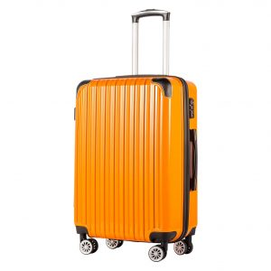 Coolife 20 Inches Carry On Suitcase