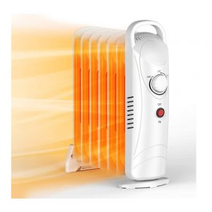 Air Choice Oil Filled Radiator Heater 700W Space Heater