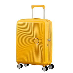 American Tourister Sound Box 55 cm Luggage, Yellow