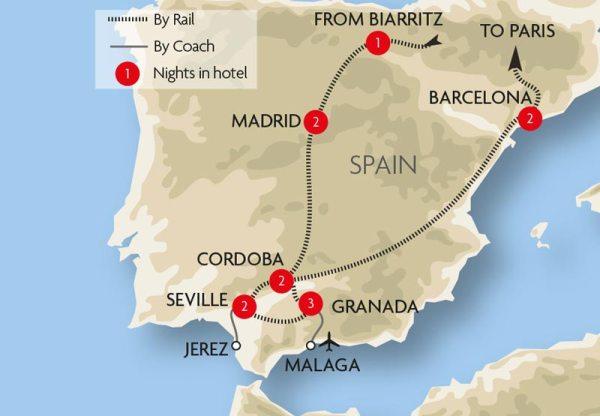 Seville Train Holidays Great Rail Journeys