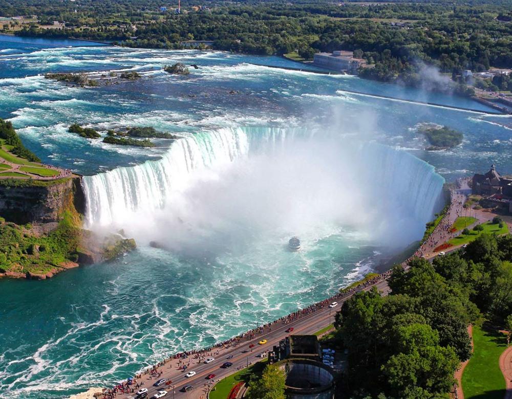 American Wallpaper Fall River Niagara Falls Train Holidays Great Rail Journeys