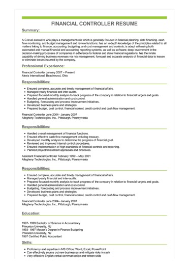 sample resume job objective examples