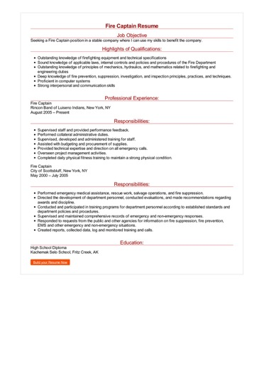 how to create a great resumes