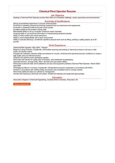 sample resume for job free download