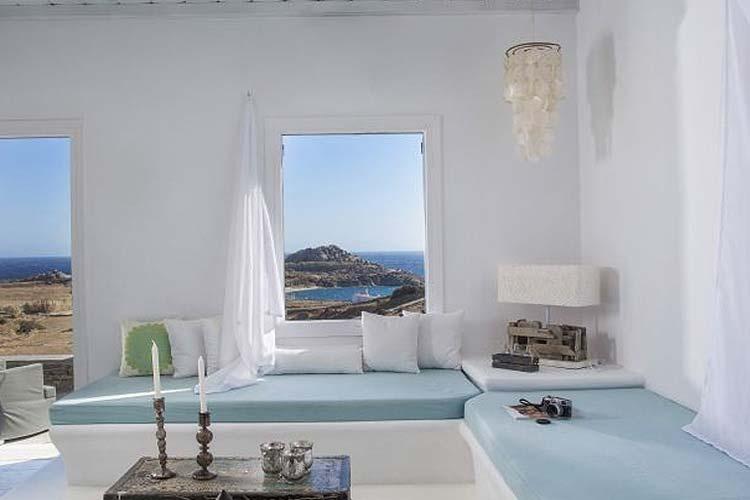 Peque os hoteles con encanto en europa escenarq architects for Casas en islas griegas