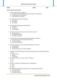 History of United States, history worksheets, United ...