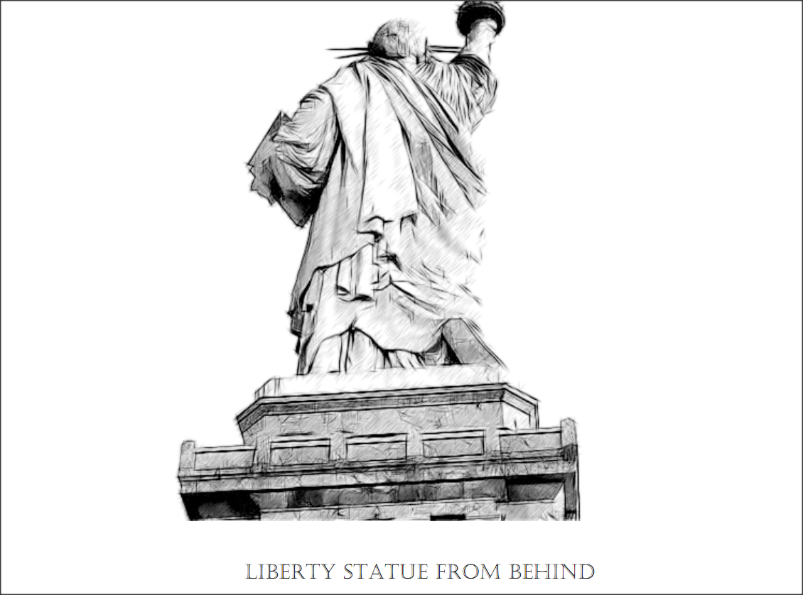Coloring Sheet On Statue Of Liberty Pictures
