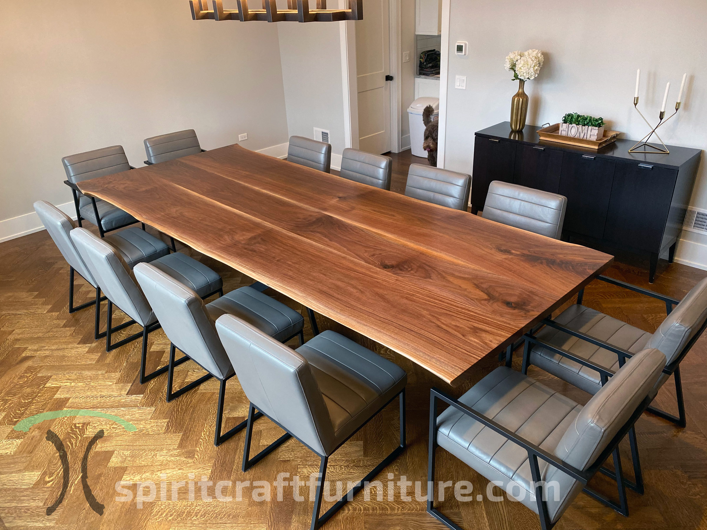 custom solid wood table tops live