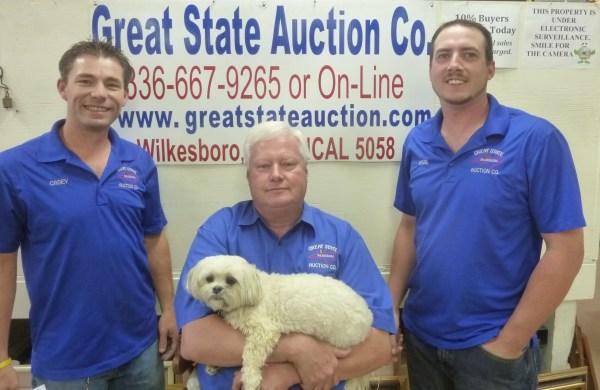 Great State Auction Company Of Wilkesboro North Carolina