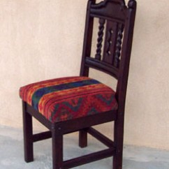 Southwest Dining Chairs Wingback Wicker Chair Mission, Style Set, Tables, Chairs, China ...