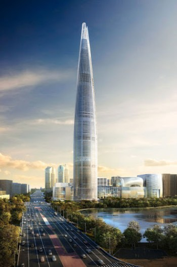 Lotte World Tower Top 10 Tallest Buildings In The World