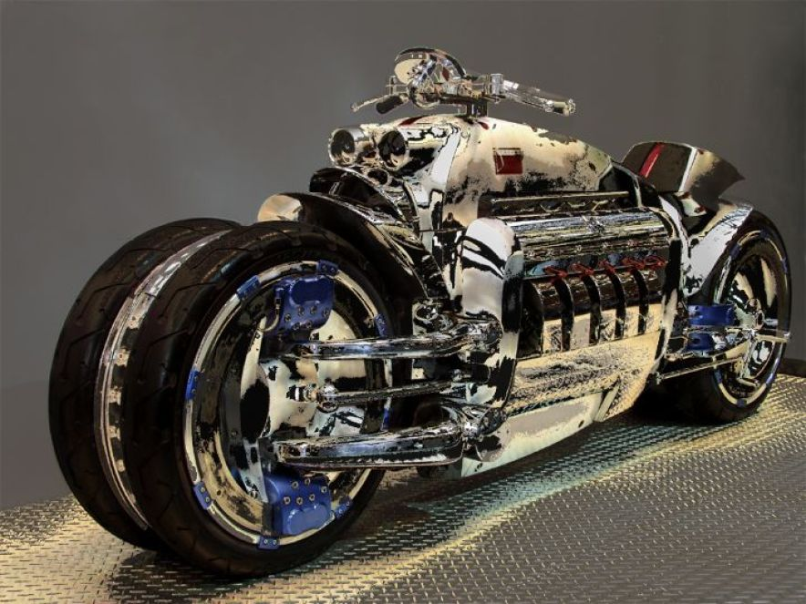 Dodge Tomahawk  Top 10 Fastest Bikes In The World