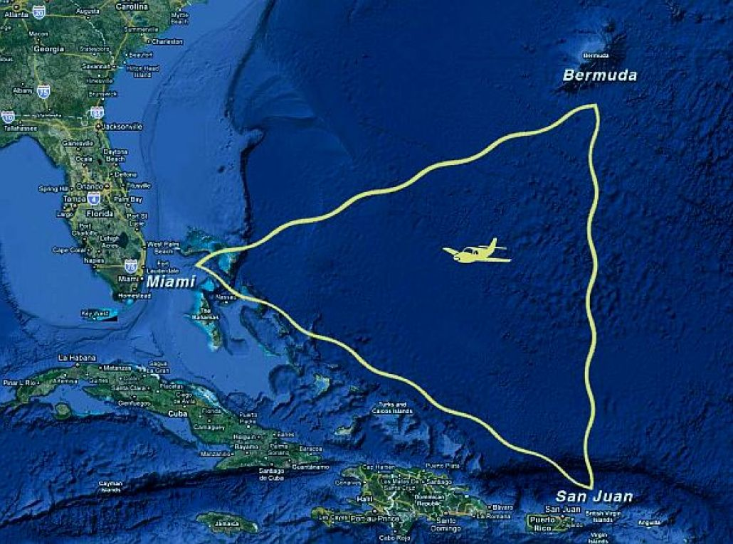 The Bermuda Triangle Top 10 Mysterious Spots in the World