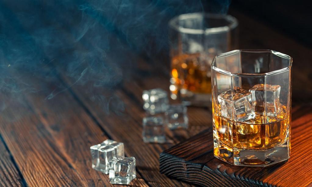 exepensive whiskey