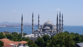 The Blue Mosque of Turkey