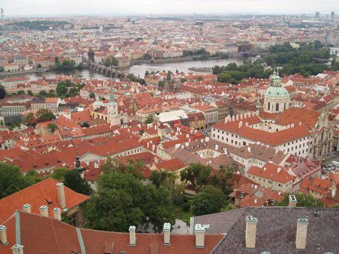 Prague skyine
